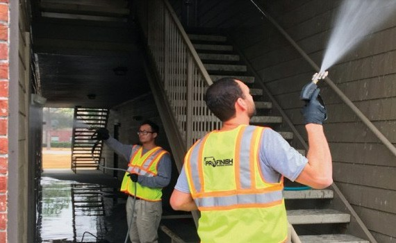 pressure washing services include breezeway cleaning