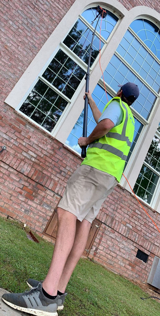 Waterfed Pole Window Cleaning in Columbia SC