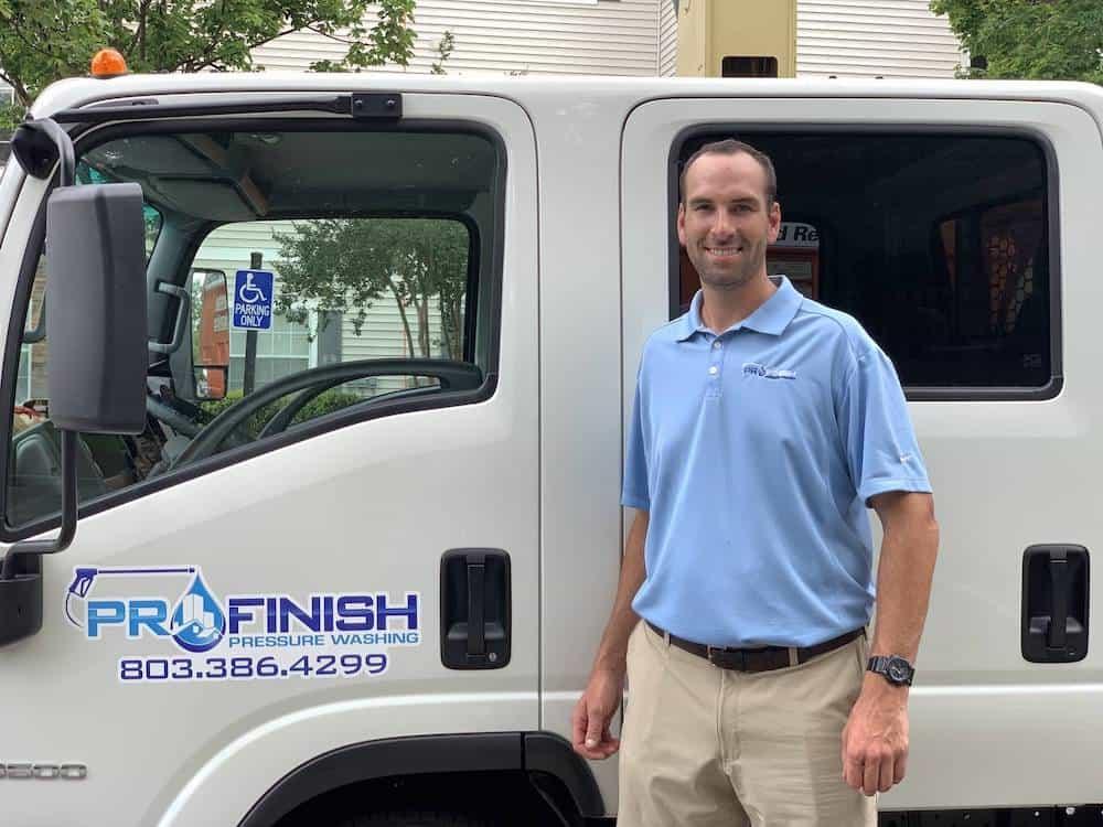Michael Brawner President Pro Finish Pressure Washing