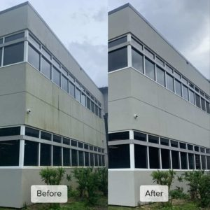 Pure Power Technologies Corporate Building Low Presure Cleaning 2