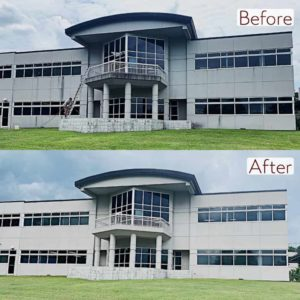 Pure Power Technologies Corporate Building Low Presure Cleaning 5