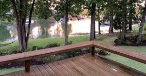 Lake House Clean Deck